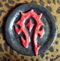 Horde Symbol Plate by Zonore