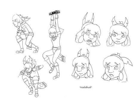 Mat Expressions and Poses by Maxamoss13