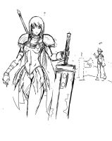 claymore by Agacross