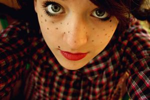 Freckles. by olainturrupted