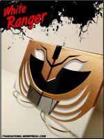 White Ranger canvas by F1shcustoms