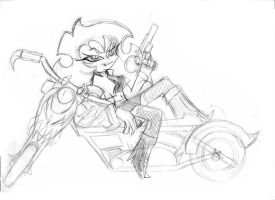 Scanty The Queen of the Road by Angie-MR