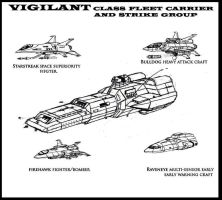 Vigilant Class Fleet Carrier by Andared