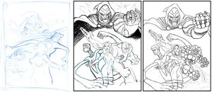 Fantastic Four by Sturby