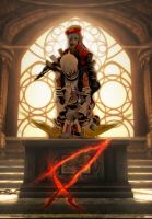 .hack//G.U. : Haseo X-th Form + Azure Kite 4 by suuzan