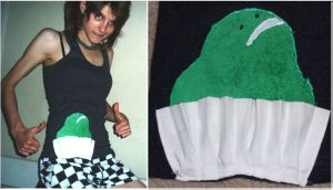 the Frog Cake singlet by inner-etch