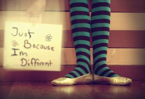 Just Because I'm Different by ambie-bambi