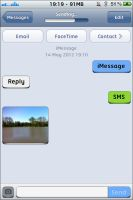 Jaku Bubbles for SMS and WhatsApp - iOS 5/6 by parry