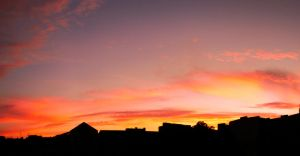 Sunset Over Berlin 105 by ErinM2000