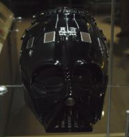 Darth Vader's helmet part 1 by theneopetmaster