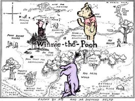 Bother, The Brain of Pooh by wiltedwalflower