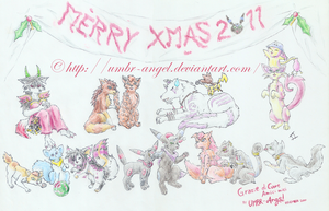 Merry Christmas 2011 by UMBR-Angel