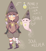 Soul Keeper specie (CLOSED) by Seuh-tan