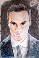 Jim Moriarty by Green-EyedGhost