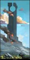 Tower II by Nathan-Pierce