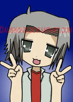 Lucky star gokudera by daushond