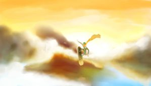 I can fly by Raykyavik