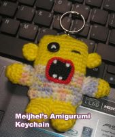 Yellow Screaming Amigurumi by meijhel