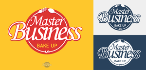 Logo for Master Business Bake Up by digitalRus