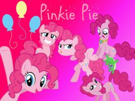 Pinkie Pie background by PinkieJellehBeanie