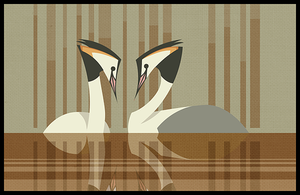 more grebes by iktis