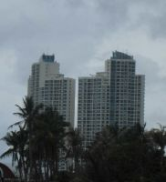 TWIN BUILDING NEAR ANCOY BAY by diimaaz