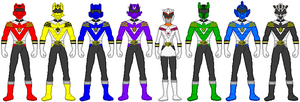 Fusion Rangers 31 by firebirdmaximus