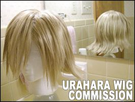 Wig Commission: Urahara. by cupcake-rufflebutt