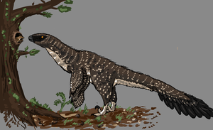 Day 5 - Deinonychus antirrhopus by Thobewill