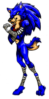 Sonikwolf, Sonic Boom Style by SoniKwolf1498