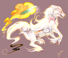 Amaterasu by Kel-Del