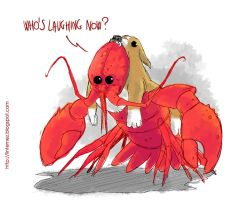Lord Lobster by flavianos