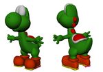 Yoshi 3D Model by JeanSlayer