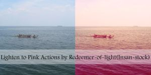 Lighten to Pink Actions by Insan-Stock