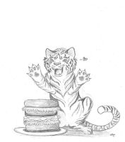 Request - Tiger like sandwich by Follyfoot