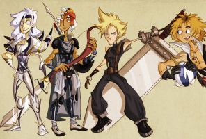 ff: dissidia - 24710 by spoonybards