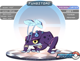 #027: Fungtoad by Lanmana