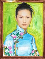 Portrait of An Asian Model by mangafox23