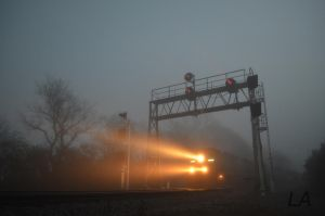Foggy Start by CSX5344