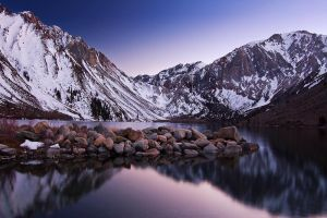 Last Light, Convict Lake by shubat