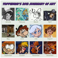 TopperHay Summary of Art 2013 by TopperHay