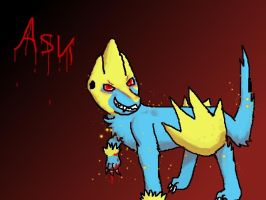 ASK Evil Manectric by Ask-Manectric