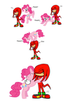 Request: Knuckles and Pinkie by SplinterStar