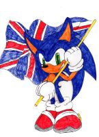 Diamond Jubilee Hedgehog by speedytheneedlemouse