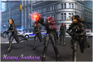 S.W.A.T Team Surrender by Heavy-Fantasy