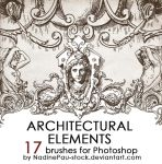 Architectual ornaments by NadinePau-stock