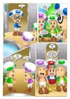 Mario Project 3 - pg. 01 by RUinc