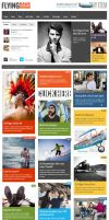 FlyingNews  Responsive Wordpress Magazine by freewordpressthemes