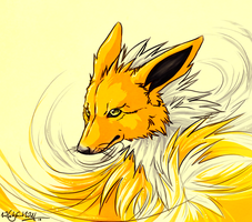 :.Jolteon.: by WhiteSpiritWolf