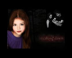 Twilight Cullen Family: Renesmee, Edward, Bella by Maysa2010